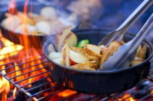 キャンプ-料理